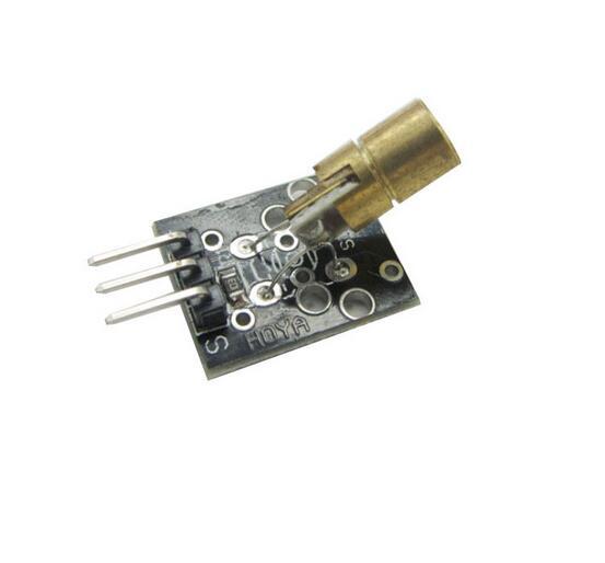 20x Diodos laser rojos 650 nm 5mW 6mm Arduino 10x red laser diodes 27