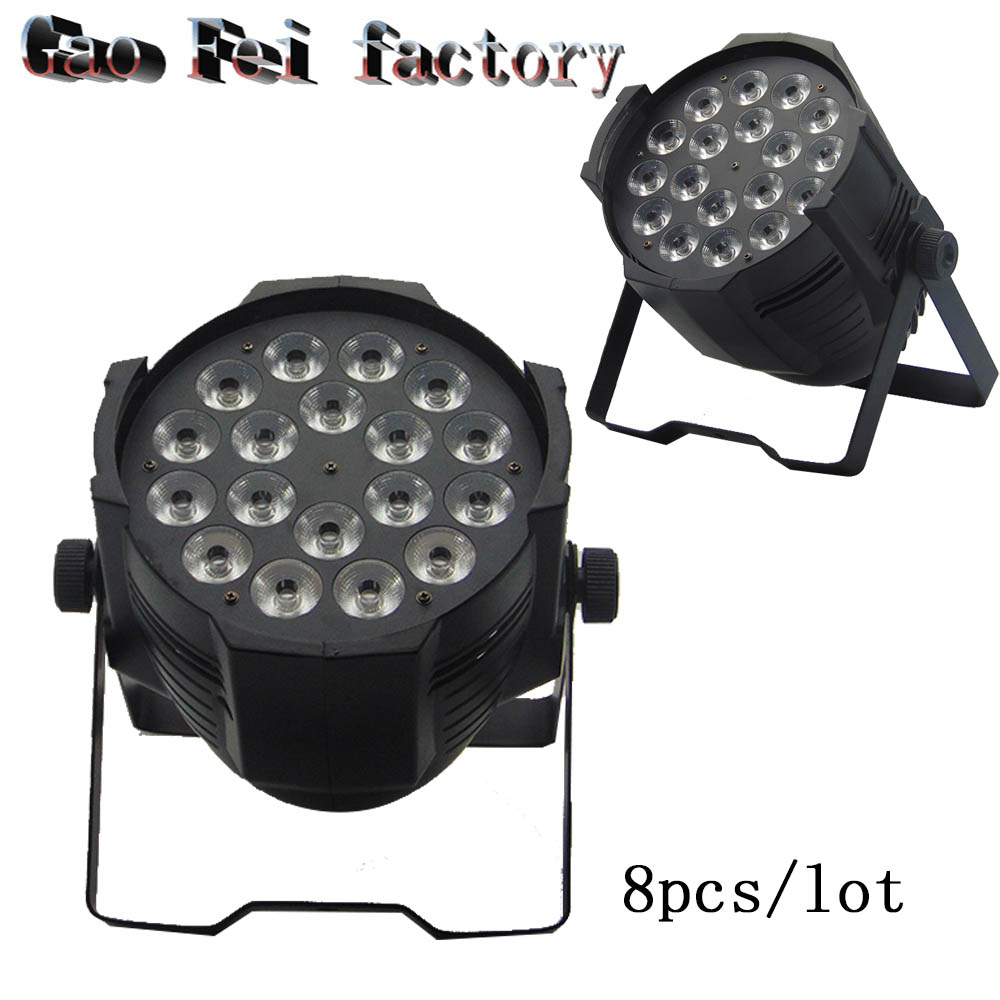 with 8 pieces Aluminum alloy 18x12W RGBW 4in1 Quad dj wash lightwith 8 pieces Aluminum alloy 18x12W RGBW 4in1 Quad dj wash light