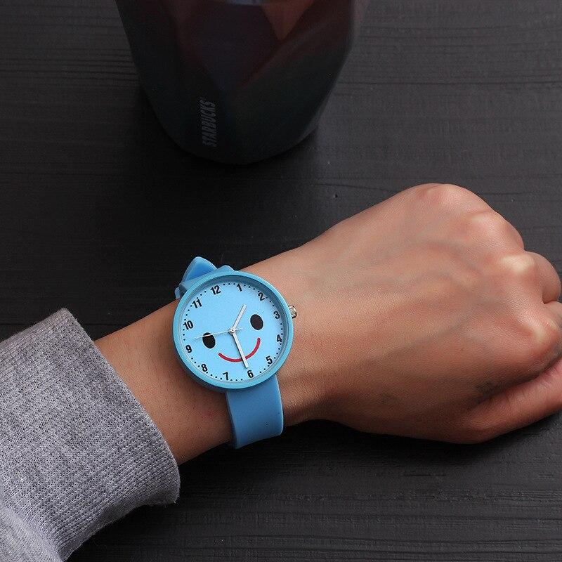 2018 Heißer Verkauf Mode Cartoon Nette Farbe Quarz Uhren Jungen Mädchen Kinder Kind Handgelenk Uhr Kind Uhr Kinder Geschenke Einfache