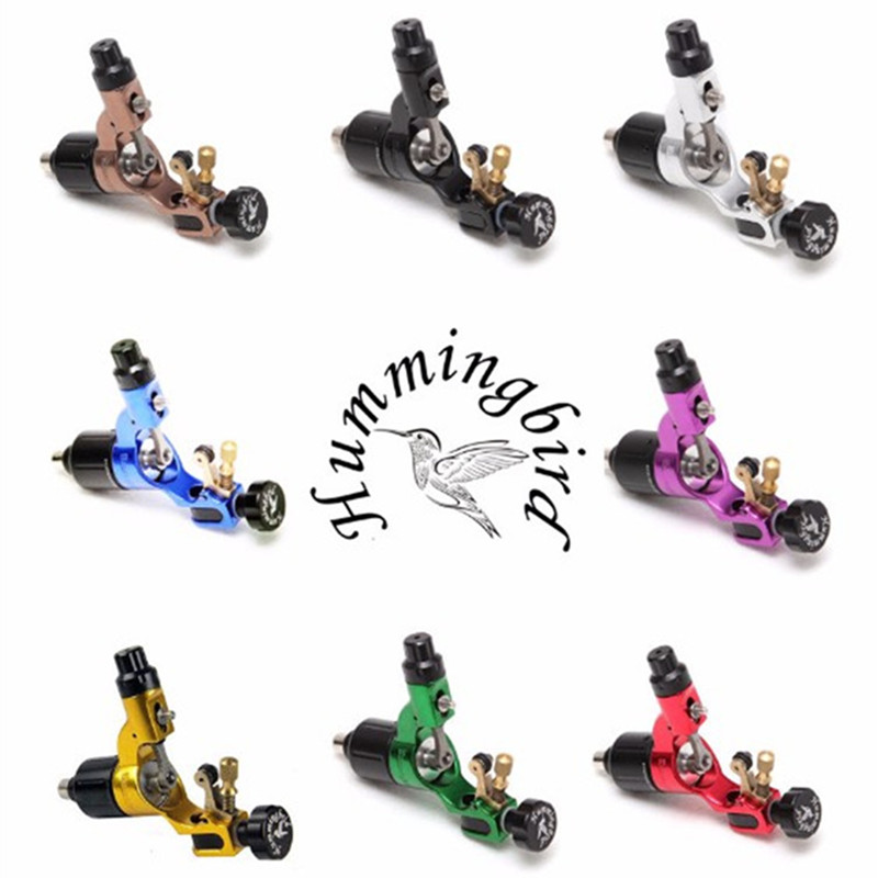 New Original HUMMINGBIRD V2 Tattoo Machine Gun Rotary Swiss Motor RCA Tattoo Machine Gun Supply one rca rotray swiss motor tattoo machine gun for cartridge tattoo needles supply hcm01