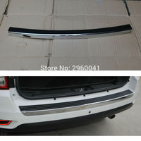 ABS Outer Rear Bumper Protector Sill Plate Cover Car Styling Trunk Guard Skid Trim For Jepp