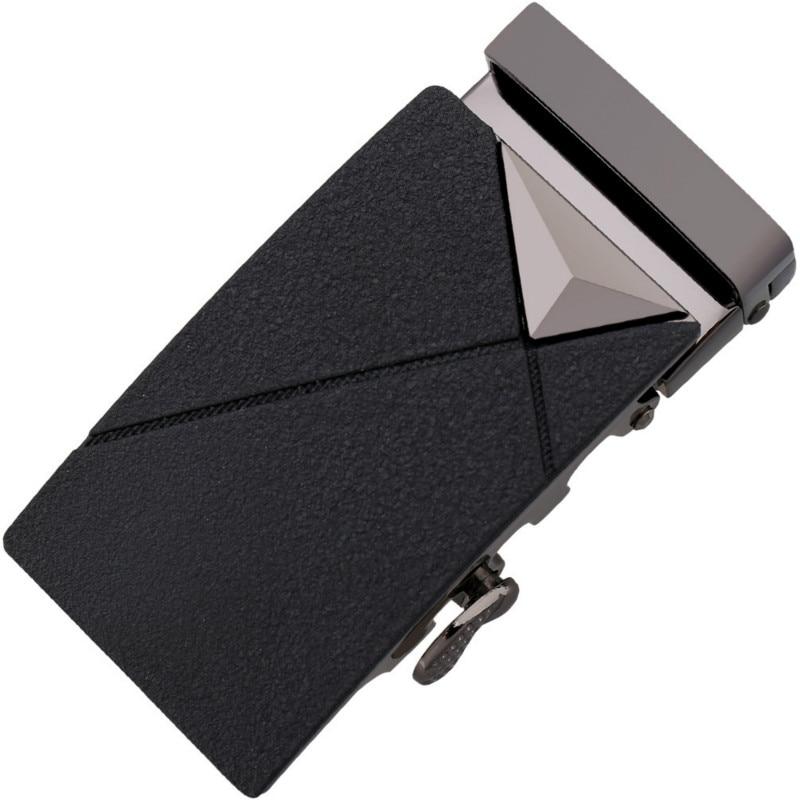 Fashion Men's Business Alloy Automatic Buckle Unique Men Plaque Belt Buckles For3.5cm Ratchet Men Apparel Accessories LY136-7795