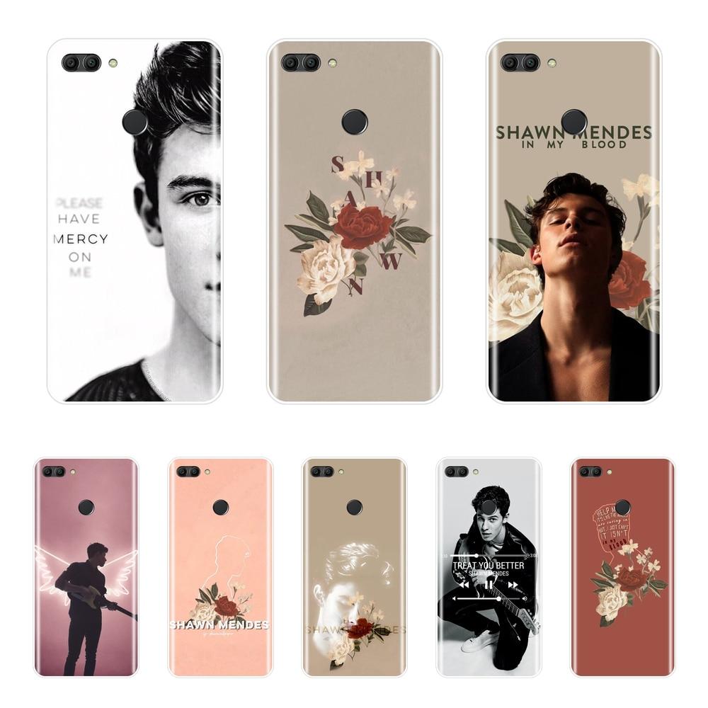 ᗚShawn Mendes Back Cover For Huawei Y5 Y6 Y7 Prime 2018 Y9 2019