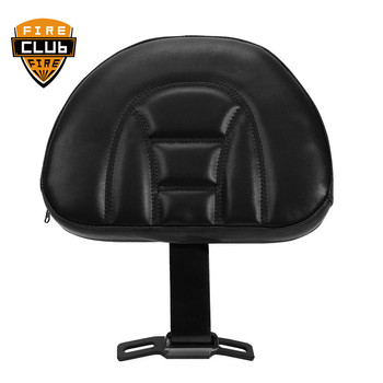 For Harley Fatboy Heritage Softail 2007-2019 2016 2017 2018 Motorcycle Accessories Leather Plug-In Driver Rider Backrest Pad