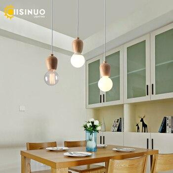 Luminaire à suspension chêne  1