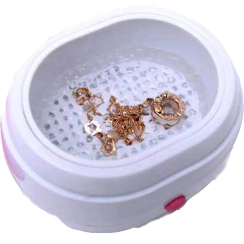 Portable Mini Ultrasonic Cleaner Washing Machine Parts Ultrasonic Washer Household Jewelry Lenses Watches Dentures Cleaning