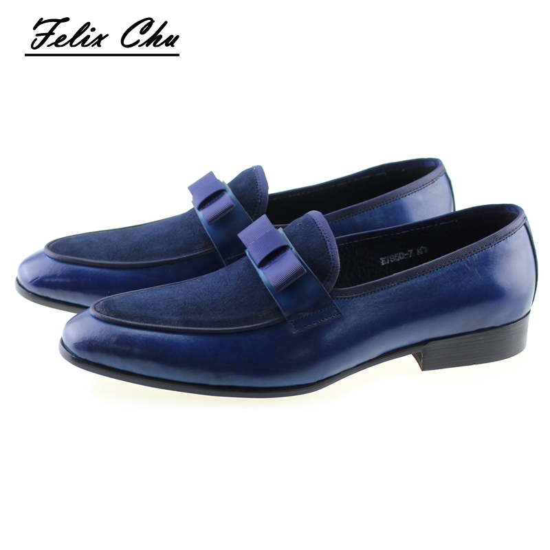 2017 Handmade Genuine Leather And Suede Leather Formal Footwear With Bow Tie Men Wedding Party Dress Shoes Men's Banquet Loafers блуза vero moda 10176944 hibiscus