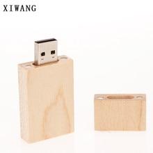 XIWANG Custom Logo Rectangular USB Flash Drive Pendrive 2.0 4GB 8GB 16GB 32GB 64GB High Speed Memory Stick usb