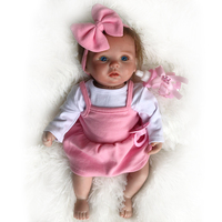 Soft Silicone Reborn Baby Doll Toy Lifelike