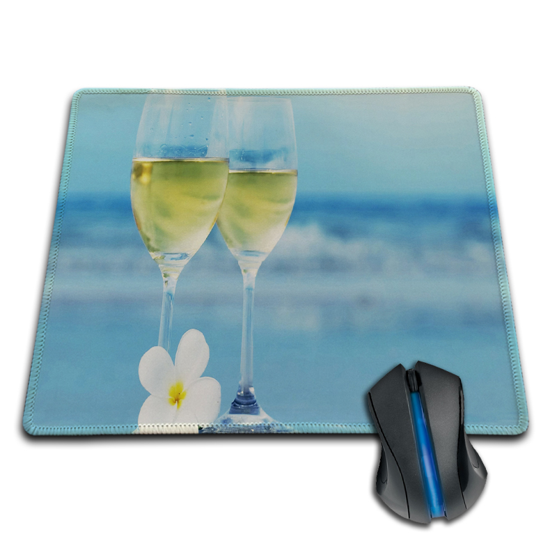 Babaite DIY Design Mousepads white wine glasses Free Shipping Mice Gaming Cool 250X290X2MM 180X220X2MM Mouse Pad Custom