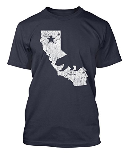 Tee Shirt Mens 2018 New Tee Shirts Printing California State Map - Cali Bear Mens T-shirt Creative Design T-Shirt