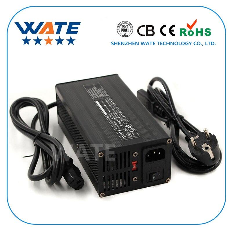12.6 v Carregador 20A 3 s 12 v Li-ion Bateria Inteligente Carregador Lipo/LiMn2O4/LiCoO2 Carregador de bateria Com ventilador De Alumínio Caso