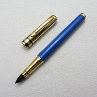 LISEUR Fountain pen Navy Blue and gold EF Nib L9026