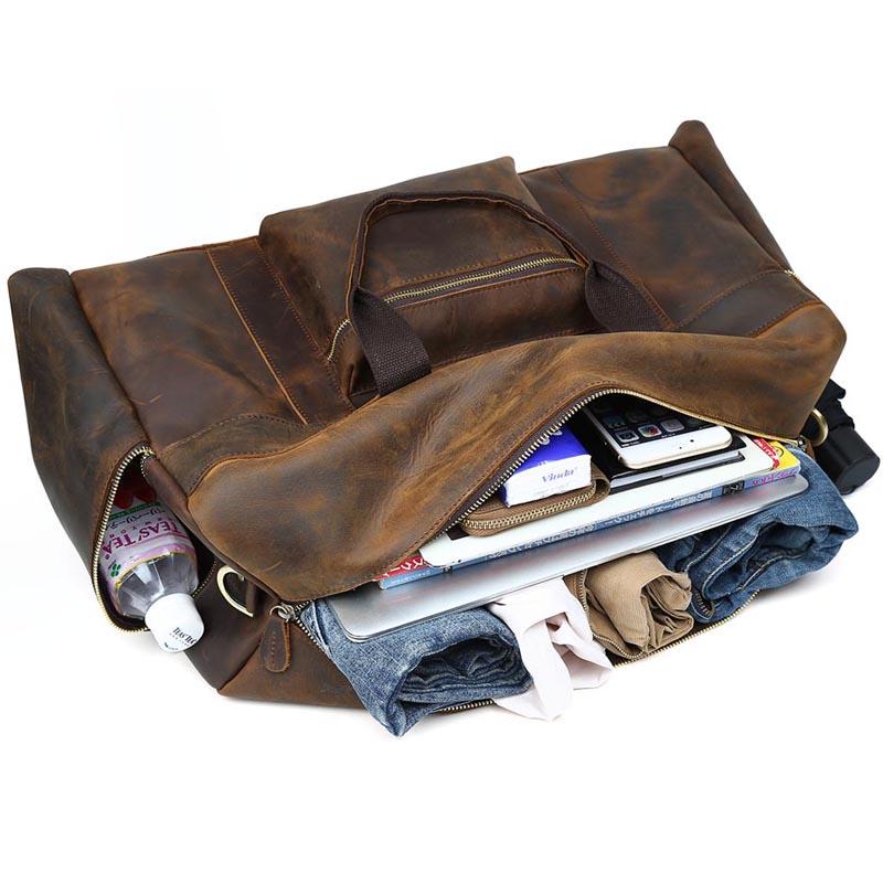 TIDING шынайы былғарыдан жасалған - Багаж және саяхат сөмкелері - фото 3