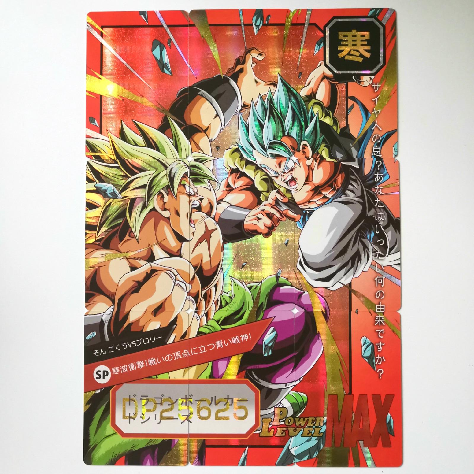 54pcs Super Dragon Ball Z 6 Sets 9 In 1 Heroes Battle Card Ultra Instinct Goku Vegeta Super Game Collection Cards