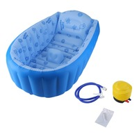 Hot Sale Baby Swimming Pool Inflatable Square Bath PVC Children Thickening Bath Tub Children Swimming Pool 3 6Y Baby Activity