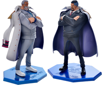 One piece action figure toy 1/7 scale painted figure white agedness ver. vice admiral Monkey D Garp figure doll brinquedos anime
