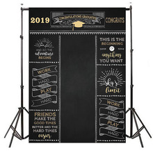 Graduation Backdrop 2019 Party Backgroud Prom Photo Congratulations Photography Background