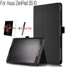 iBuyiWin Smart PU Leather Cover for Asus ZenPad 3S 10 Z500M 9.7 inch Ta