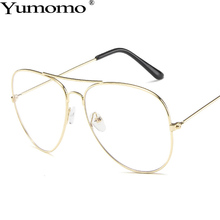 Yumomo Glasses Women 2019 New Fashion Luxury Brand Designer Retro Flat Light Anti-blue Frog Mirror UV400 Female De Sol Gafas
