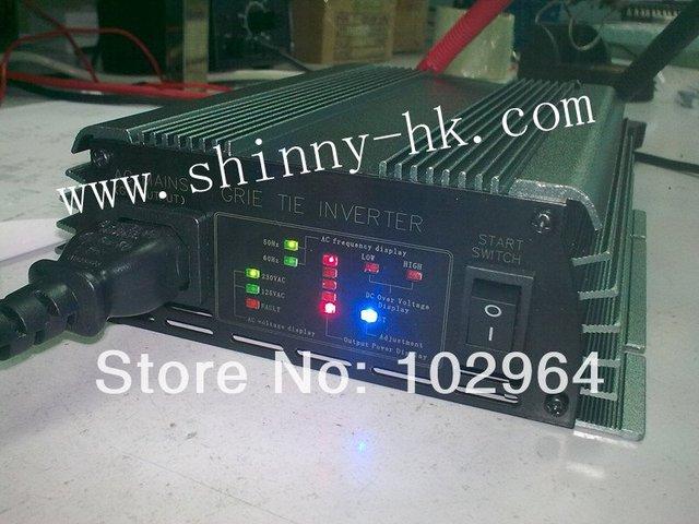 Free Shipping via DHL/EMS 300W Solar Grid Tie Inverter 22-60V 120/230VAC new technology