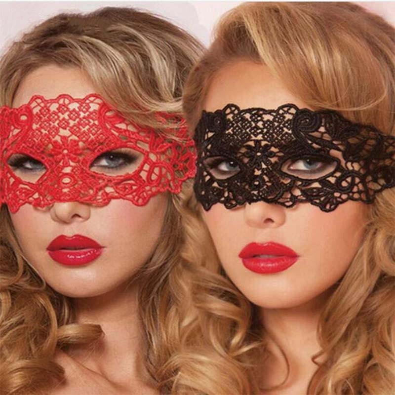 Buy Baby Dolls Women Teddy Lingerie Sexy Hot Erotic Underwear Hollow Lace Mask Erotic Lingerie Cosplay Sexy Costumes Party Masks