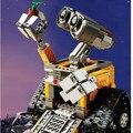 2017 Lepin 16003 Idea Robot Wall-e WALL-E Bloques de Construcción de Ladrillos de Juguetes para Los Niños Regalos de Cumpleaños compatible Con 21303