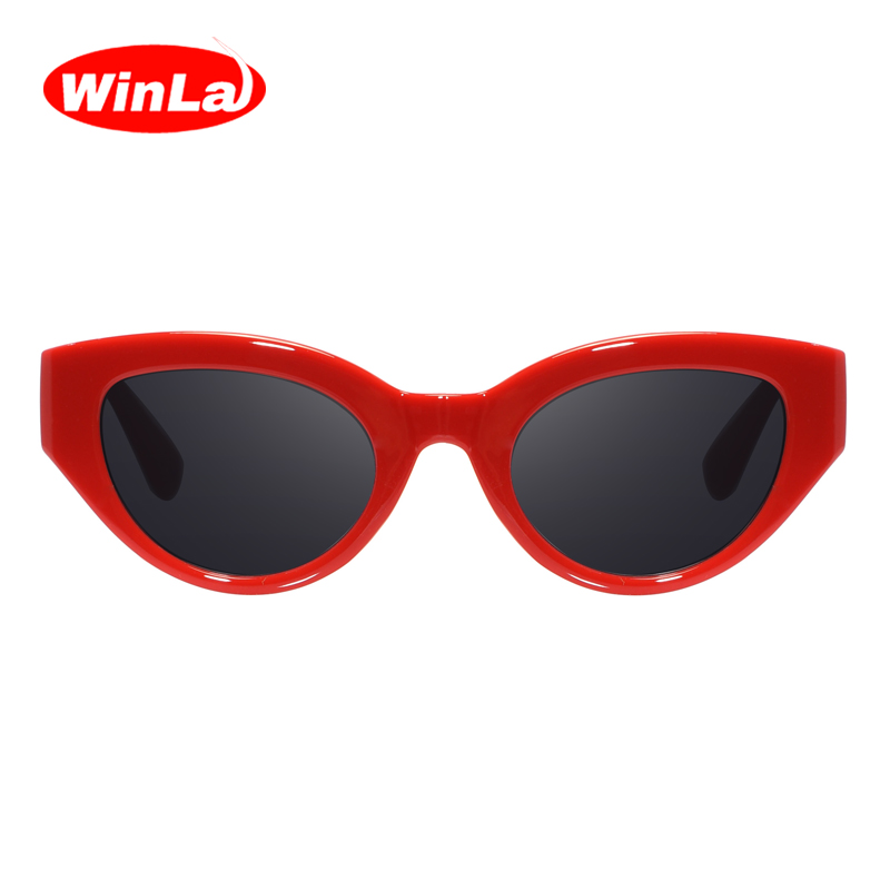 Winla 2018 Fashion Sunglasses Women Brand Designer Popular Sun Glasses For Women Vintage Shades Eyewear Oculos Gafas UV400