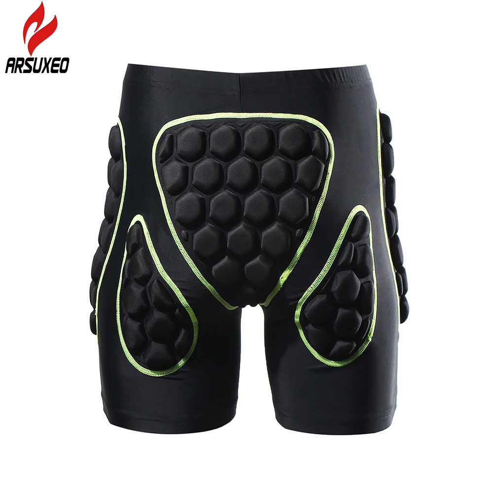 2017 arsuxeo mens deportes al aire libre ciclismo mtb downhill shorts protectora
