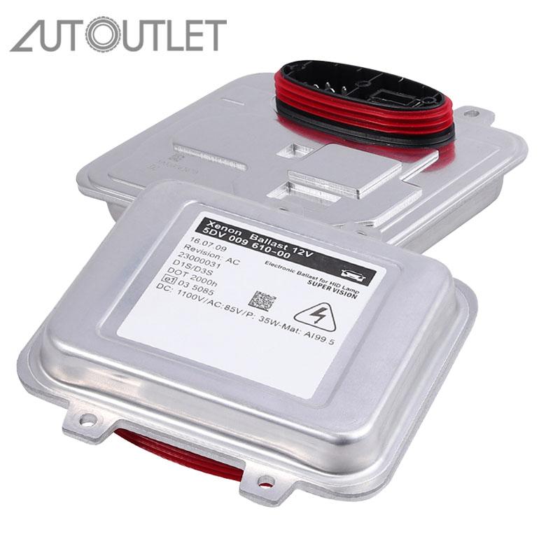 AUTOUTLET 2011-13 for Buick Regal Xenon HID Headlight Ballast Control Unit Igniter Module Ballast HID Headligh 5DV00961000