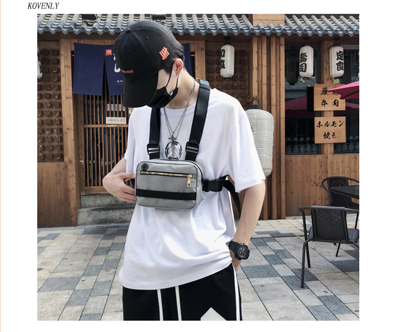 HTB1CEtQa8v0gK0jSZKbq6zK2FXay - New Chest Bag For Men Tactical Vest Bag Casual Function Chest Rig Bags Streetwear For Boy Waist Pack Male Kanye 072002