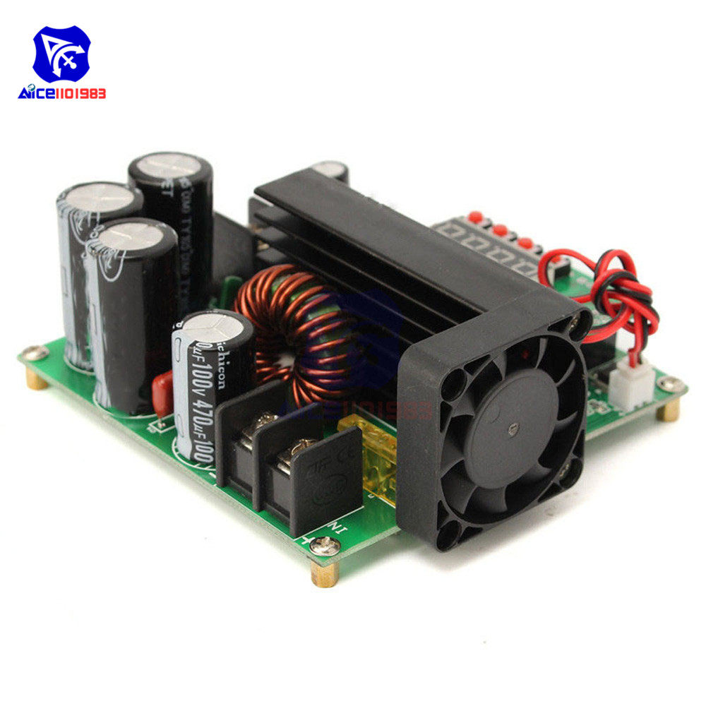 Image 4 - JUNTEK BST900W DC DC 8 60V to 10 120V Step Up Module LED Control Boost Converter Voltage Regulator Transformer Module-in Integrated Circuits from Electronic Components & Supplies