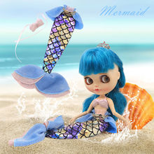 Neo Blythe Doll Mermaid Dress