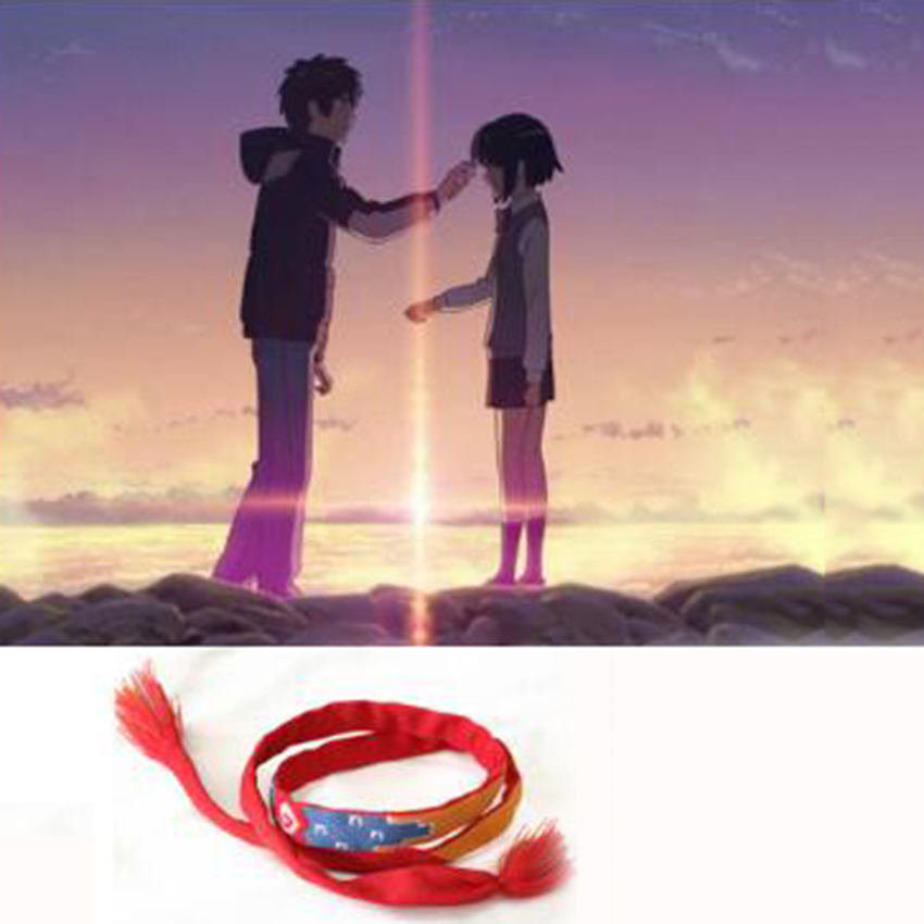 Meetcute Your Name Bracelet Movie Anime Bracelets & Bangles For Women - Fashion Jewelry - Photo 4