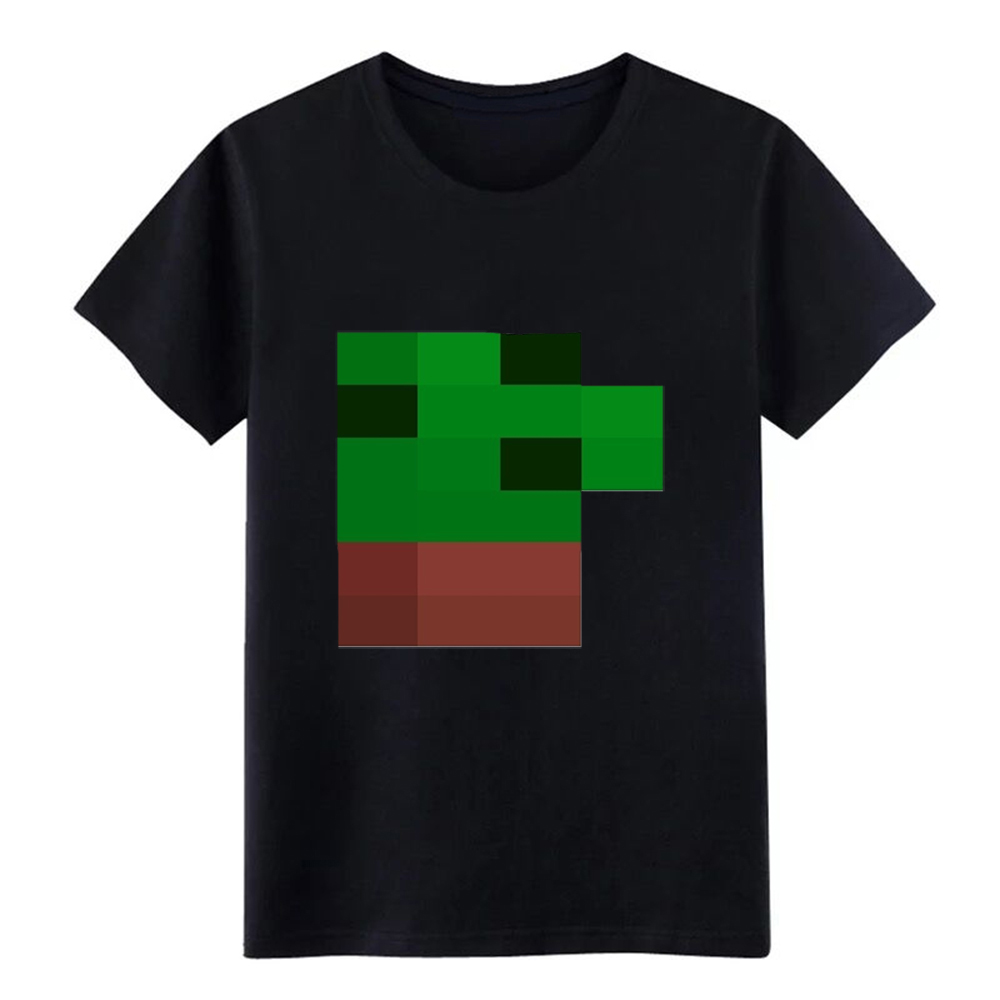 Men's Minecraft Skin T-Shirt (Mens) t shirt Printing 100% cotton plus size 3xl slim Fit Basic summer Letter shirt image