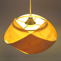 Warm personality single head bamboo chandelier lamp lamp Home Furnishing small bedroom bedside lamp chandelier meal m