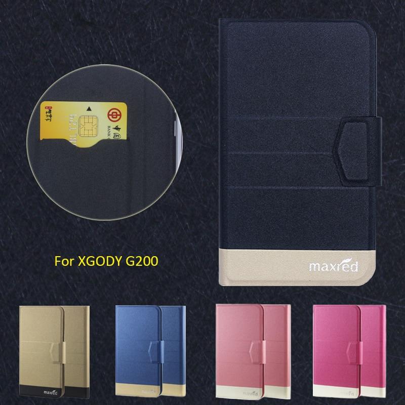 Nuevo Top Caliente! XGODY G200 Caso, 5 Colores de la Alta calidad Del Tirón Comp