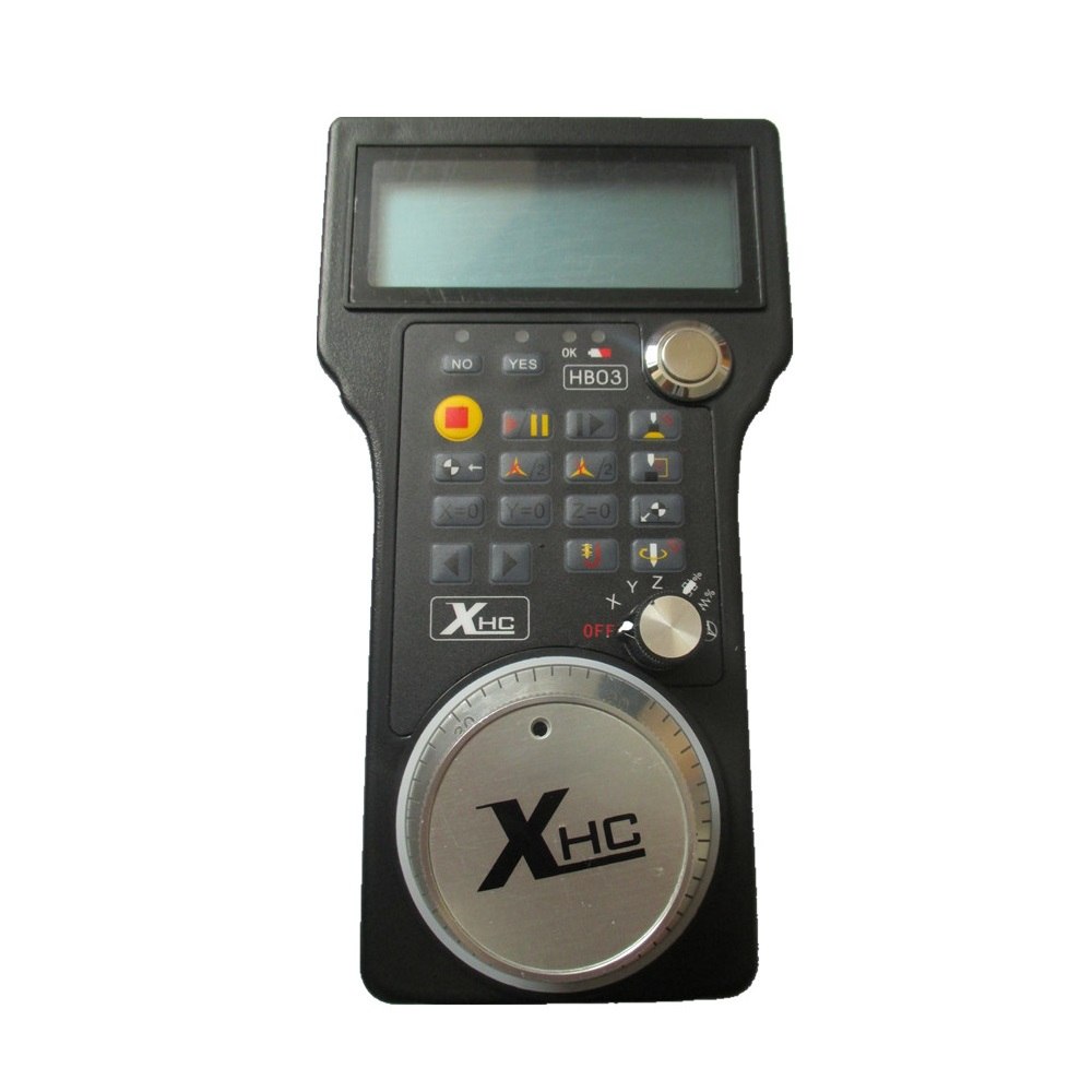 Ncstudio CNC 3-teljeline USB manuaalne impulssgeneraator MPG ripatsiga graveeringuga käsiratas (HandWheel-03)