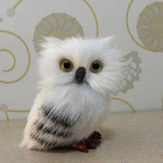 Super Cute Owl Christmas Plush Stuffed Doll Props