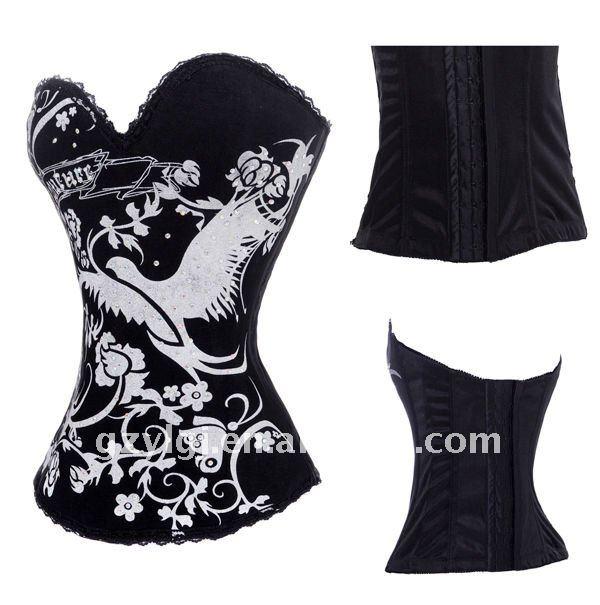 Wholesale Sexy Lingerie fancy dress costume   Bustiers     corset   S,M,L,XL 2269
