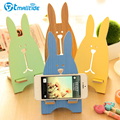 Tmalltide Universal Mobile Phone Holder Stands for iPhone 6S 7/7Plus Cute Bunny Support Holders for iPhone For Sumsung
