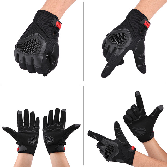 1 paire de gants à écran tactile | Fabriqués en cuir microfibre, à larrière des gants conçus avec un tampon en caoutchouc épais