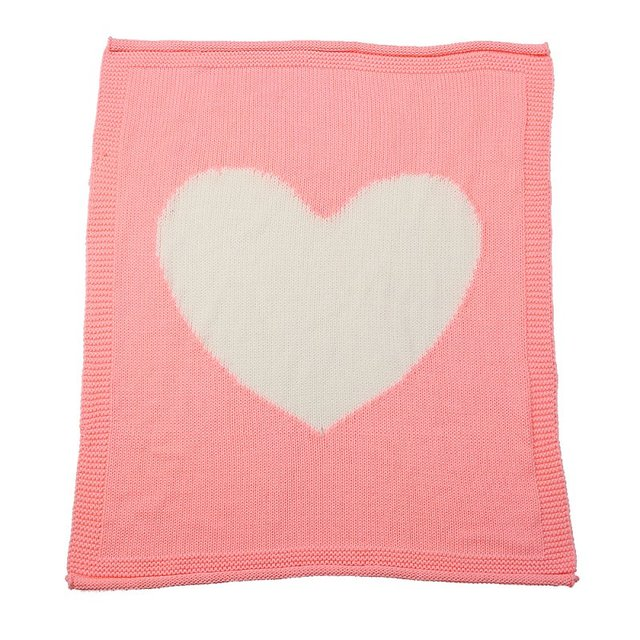 Hohe Qualitat Liebe Muster Stricken Sauglinge Und Kleinkinder Decke