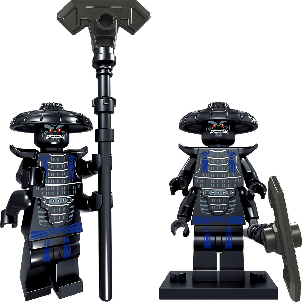 2018 New Lele 31092 24pcs Ninja go Movie KAI Lloyd Sensei Wu Snake Bronk Zane NYA LegoINGly City Man Blocks gift Kids Toys