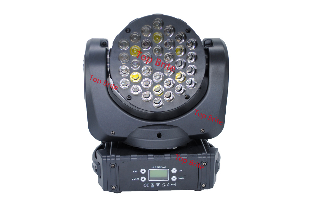 2016 Hot koop 36 * 3 W VS Cree Led LED Moving Head Beam Podium Licht - Commerciële verlichting - Foto 2