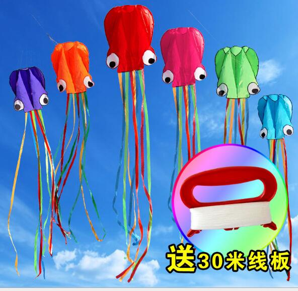 Outdoor Fun & Sports Glorious Hot Sell 4m Octopus Single Line Stunt /software Power Kite With Flying Tools Inflatable And Easy To Fly Toys & Hobbies