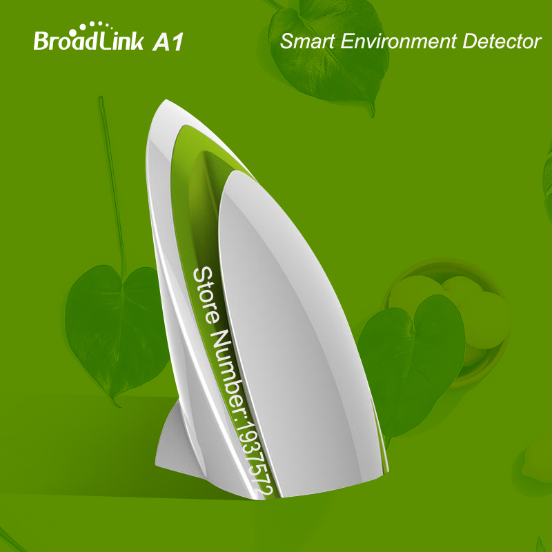 Broadlink A1,Wifi Air Quatily Detector Tester,App Detect Temperature Humidity Noise,IR/RF/WIFI,Smart Home Remote Control,E-Air цена