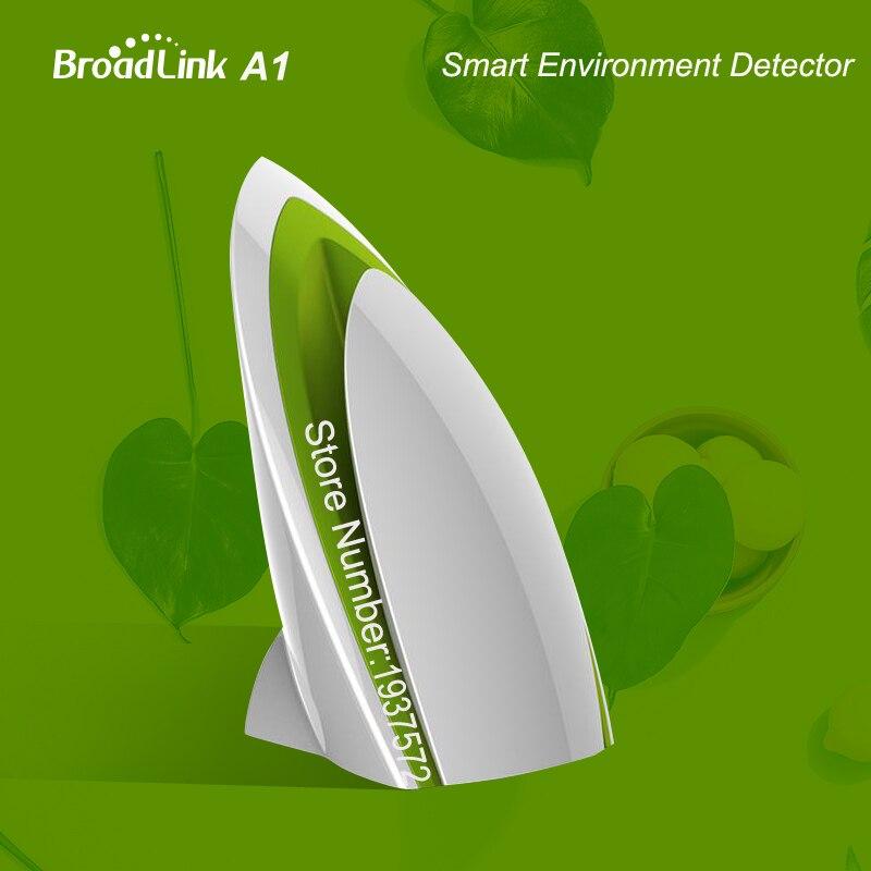 imágenes para Broadlink a1, wifi aire quatily detector tester, aplicación de detección de humedad temperatura de ruido, ir/rf/wifi, control remoto casa inteligente, aire
