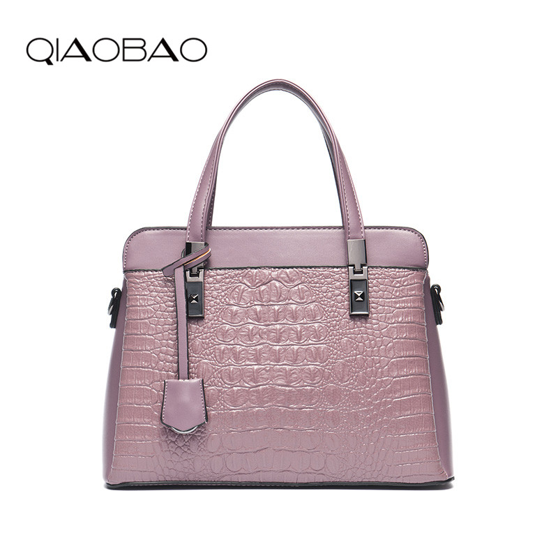 QIAOBAO Women Bag Female Shoulder Bag Handbags Women Famous brands Genuine Leather Bag Ladies Crossbody Messenger Bags Crocodile qiaobao 100% genuine leather handbags new network of red explosion ladle ladies bag fashion trend ladies bag