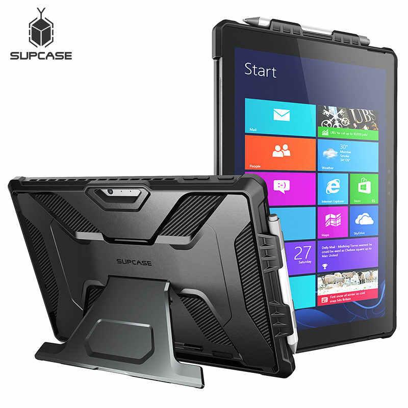 Para Microsoft Surface Pro 6 2018/Pro 5 2017/Pro 4 funda UB PRO cuerpo completo funda resistente con soporte, compatible con teclado